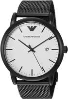 Emporio Armani Men's Quartz Stainless Steel Dress Watch, Color: (Model: AR11046)