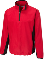 Cutter & Buck Red Follett Color Block Half-Zip Windshirt