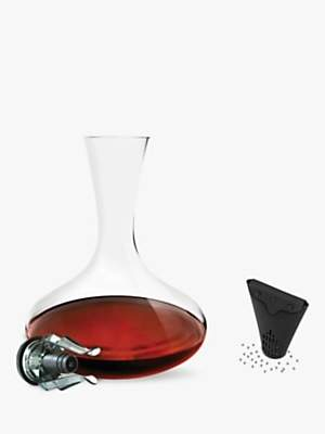 Le Creuset Vitesse 1.5L Glass Decanter, Aerator and Cleaning Balls Set