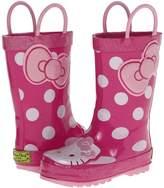 Western Chief Hello Kitty Cutie Dot Rain Boot Girls Shoes