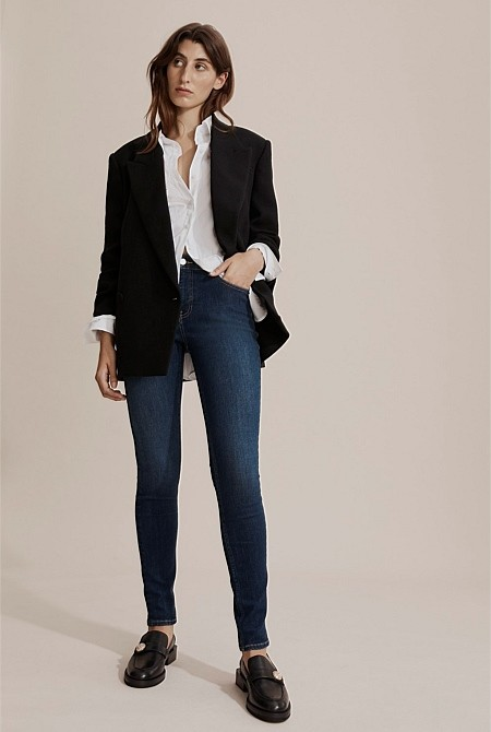 Thumbnail for your product : Country Road Australian Cotton Mid Rise Skinny Jean