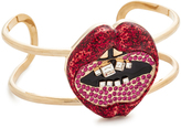 Marc Jacobs Lips In Lips Statement Cuff Bracelet