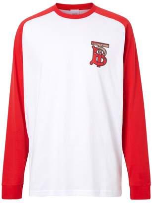 Burberry Monogram Motif Raglan T-Shirt