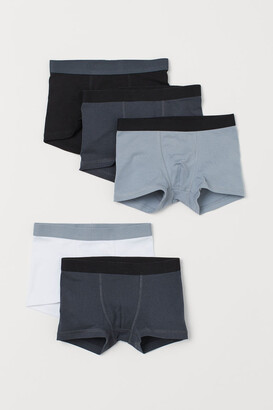 H&M 5-pack Boxer Shorts - Gray