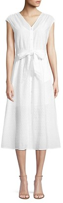 Draper James Lace Eyelet A-Line Dress