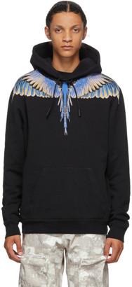 Marcelo Burlon County of Milan Black Wings Hoodie
