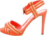 Sergio Rossi Platform Ankle-Strap Sandals