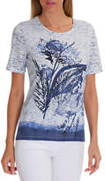 Betty Barclay Embellished T-Shirt, Blue
