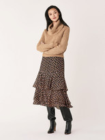 Diane von Furstenberg Pax Wool-Blend Cowl-Neck Sweater