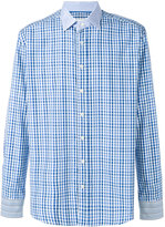 Etro check and stripe shirt - men - Cotton - 40