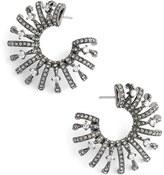 Nadri Women's 'Liliana' Cubic Zirconia Hoop Earrings