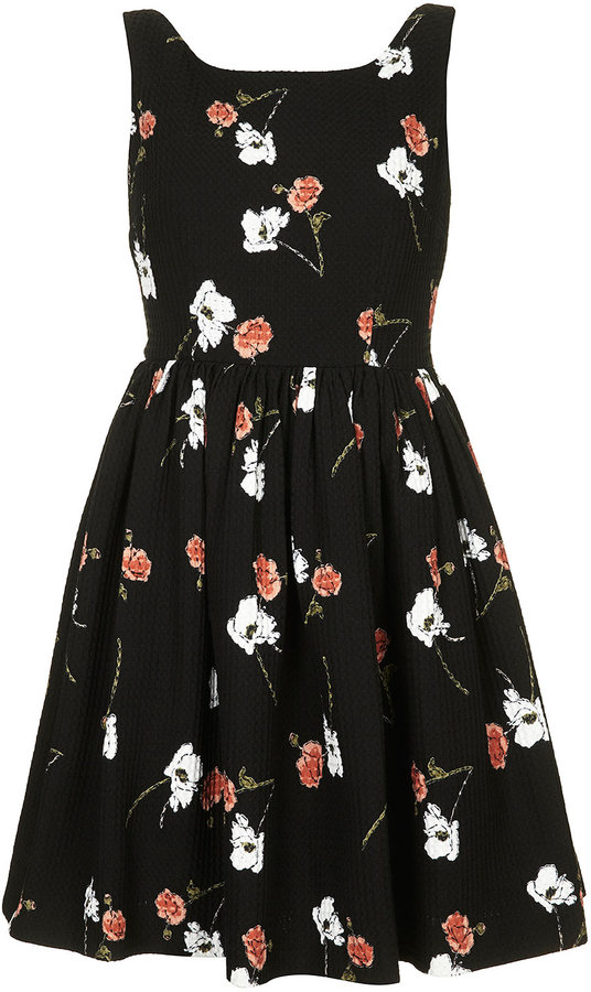 Kate Moss for topshop **floral print sundress