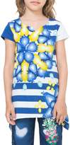 Desigual Stripe Cotton T-Shirt