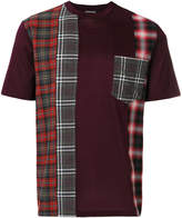 Lanvin patchwork checked T-shirt