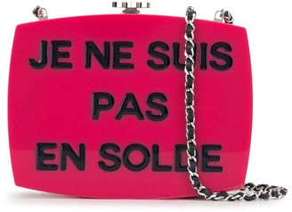 2015 Je Ne Suis Pas En Solde 5x5 crossbody bag