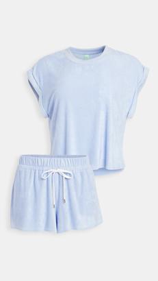 Honeydew Intimates Just Chillin Terry Cloth PJ Set