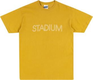 Stadium Goods Outline Short-Sleeved T-Shirt 'Mustard'
