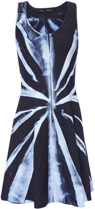 Proenza Schouler Tie-dyed Stretch-knit Mini Dress