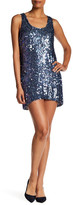Dress the Population Leah Sequined Shift Dress