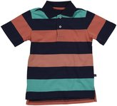 E-Land Kids Rugby Polo (Toddler/Kids) - Bali Navy-4T