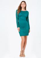 Bebe Threadwork Lace Dress