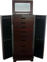 Asstd National Brand Mele & Co. Lynwood Jewelry Armoire