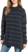 BP Women's Stripe Oversize Pullover