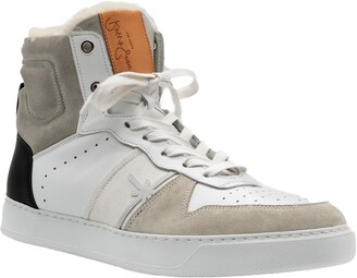 Ross & Snow High Roller Water Resistant Genuine Shearling Lined Sneaker