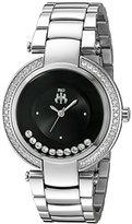 Jivago Women's JV1611 Celebrate Analog Display Swiss Quartz Silver Watch