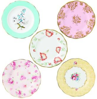 Royal Albert 100 Years Of Plates (Set Of 5) (20Cm)