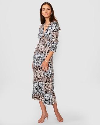 SUBOO Amelie Long Sleeve Dress