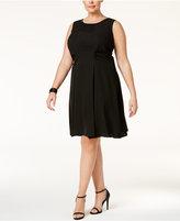SL Fashions Plus Size Embellished A-Line Dress