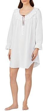 Eileen West Ruffled Cotton Nightgown