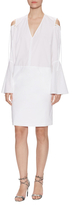 Derek Lam Cotton Bell Sleeve Shift Dress