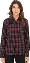 Joe's Jeans Women's Madie Woven Plaid Shirt