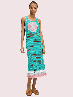 Kate Spade Spade Flower Crochet Dress