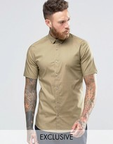 ONLY & SONS Skinny Smart Short Sleeve Shirt