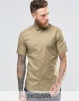 ONLY & SONS Skinny Smart Short Sleeve Shirt
