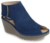 Fly London Women's Yahl Open Toe Platform Wedge