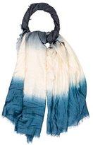 Maje Dip-Dye Woven Shawl