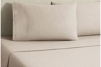 Belle Epoque Flannel Heather Sheet Set - Tan Twin