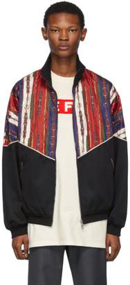 Gucci Black Bi-Material Jacket