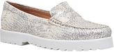 Carvela Comfort Chaz Loafers, Gold
