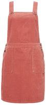 Tu clothing Pink Cord Pinny Dress