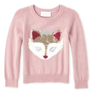Children's Place The Crown Fox Graphic Sweater (Baby Girls & Toddler Girls)