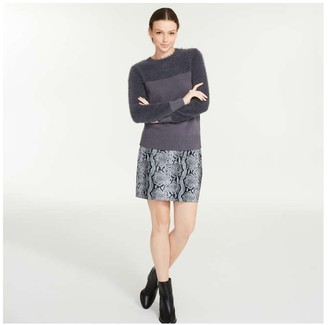 Joe Fresh Women's Eyelash Sweater, Dark Grey (Size XL)