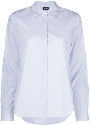 Aspesi Pinstripe Long-Sleeved Shirt