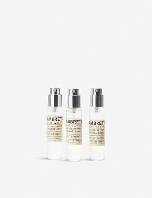 Le Labo Ambrette 9 eau de parfum travel tube refill set 3 x 10ml