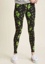 Banned Like Monster Like Daughter Neon Leggings in XS - by Banned from ModCloth