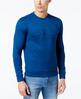 HUGO BOSS Men's Salbo Logo-Embossed Sweater